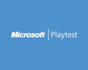 Microsoft Playtest Logo