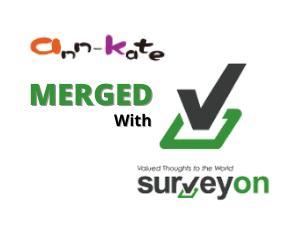 Ana Kate and SurveyOn Logo
