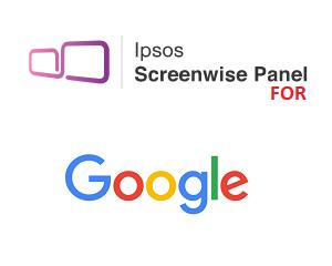 Screenwise Panel for Google Logo