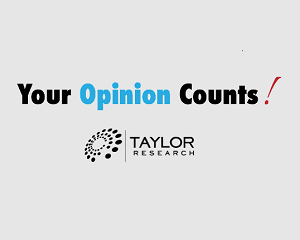 Taylor Research Your Opinion Counts Panel Logo