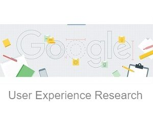 Google User Experience Research panel logo