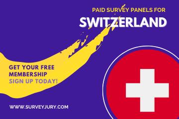Popular Paid Survey Panels For Switzerland