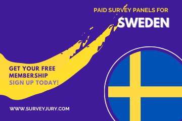 Popular Paid Survey Panels For Sweden