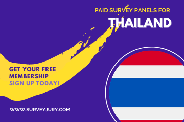 Popular Paid Survey Panels For Thailand