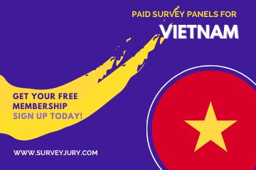 Popular Paid Survey Panels For Vietnam